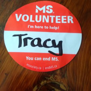 MS Volunteer Badge